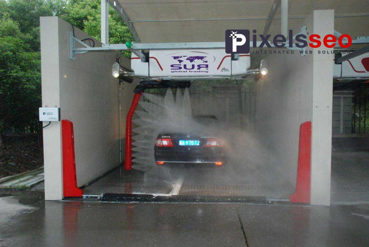 مغاسل سيارات أوتوماتيكية
